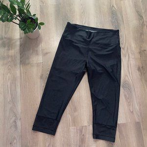 VS Sport Black Cropped Legging with Panelling